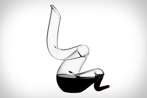 Sinuous Wine Carafes