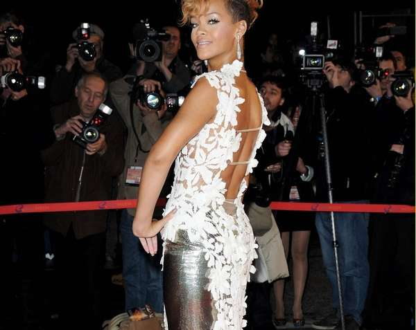 Retro-Futuristic Red Carpet Gowns