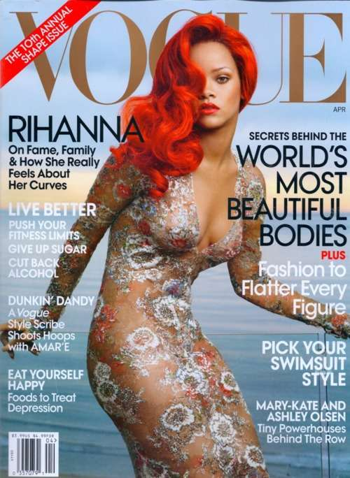 Rihanna Vogue April 2011