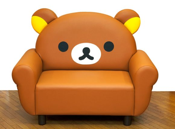 Cuddly Cartoon-Inspired Furniture
