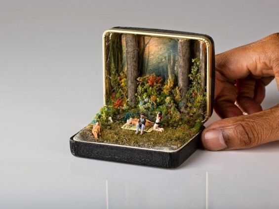 Ring Box Dioramas