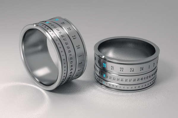 Revolutionary Time-Telling Rings