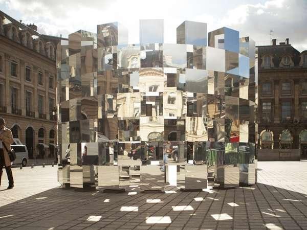 Reflective Coliseum Structures