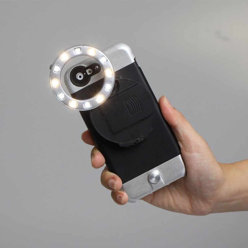 Powerful Smartphone Flashes Ring Light Iphone