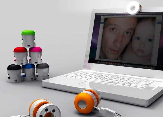 Webcam View Illuminators