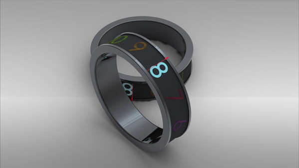 360-Degree Cuff Clocks