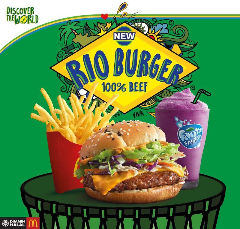 Carnival-Inspired Burgers