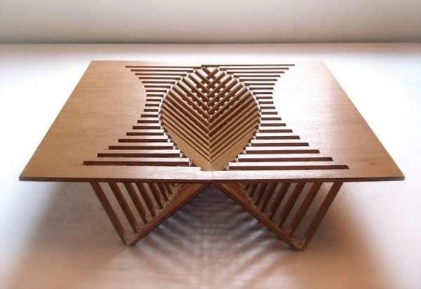 Sunken Furniture Surfaces