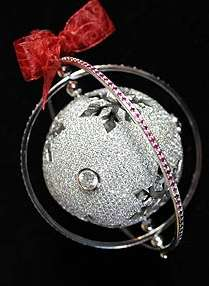 $143,000 Christmas Baubles
