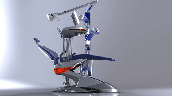 Spaceship-Like Dentist Chairs