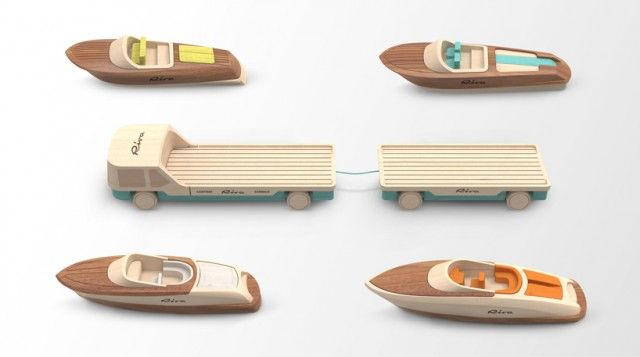 Iconic Wooden Models