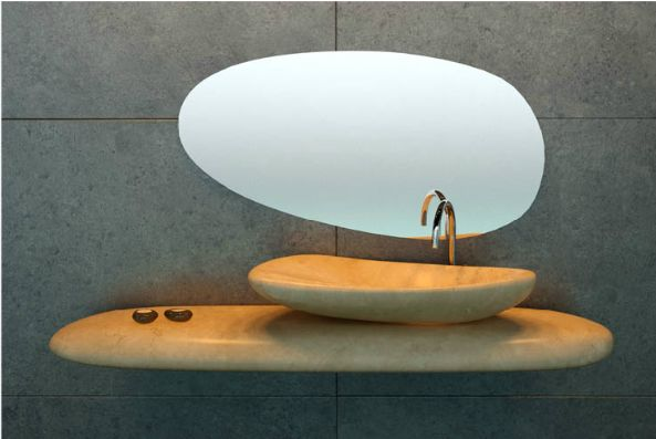 Beautiful Rock Washbasins