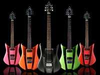 RKS Wave Guitar With Interchangeable Skins
