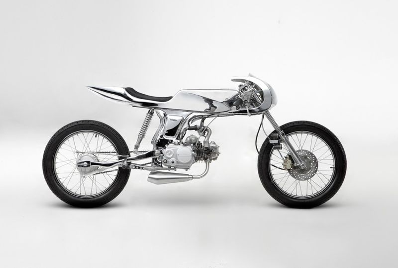 Chrome Skeletal Motorcycles