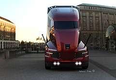 Hydrogen Fueled Trucks