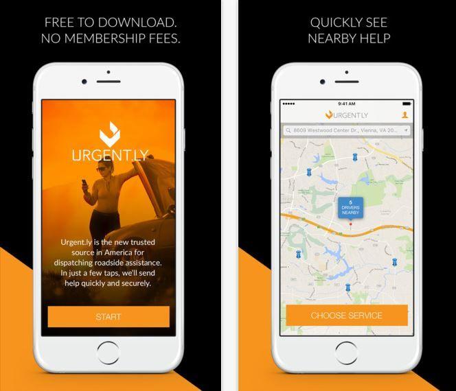 On-Demand Roadside Assistance Apps