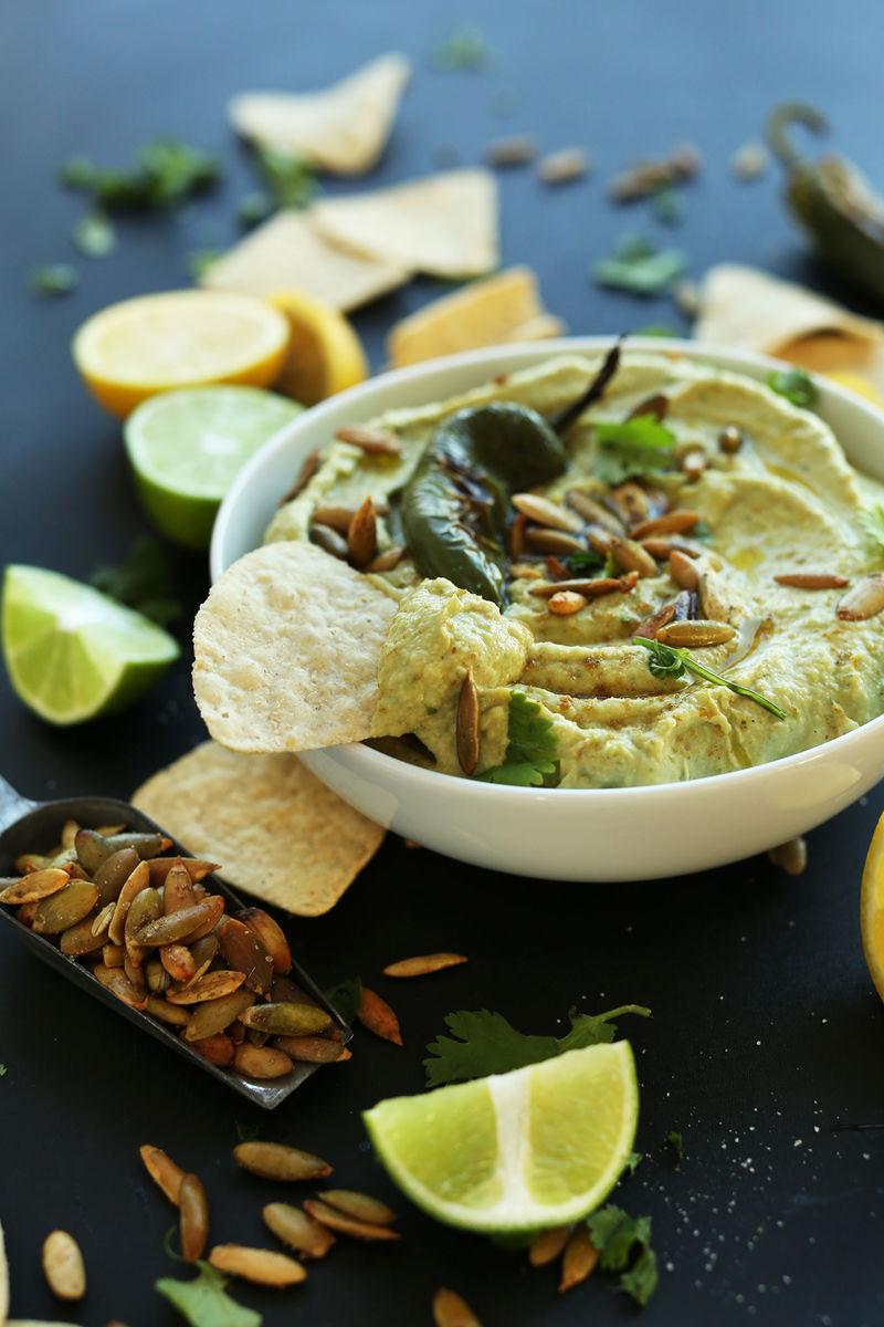 Roasted Jalapeno Hummus