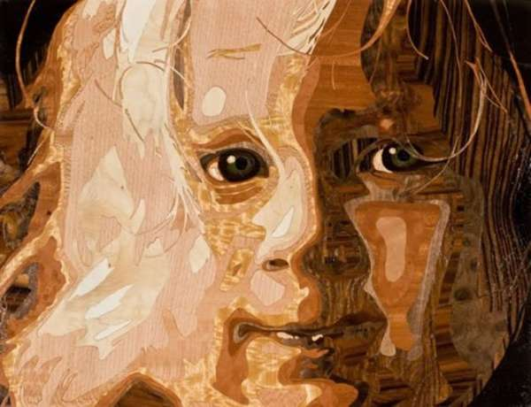 Wood Veneer Portraits