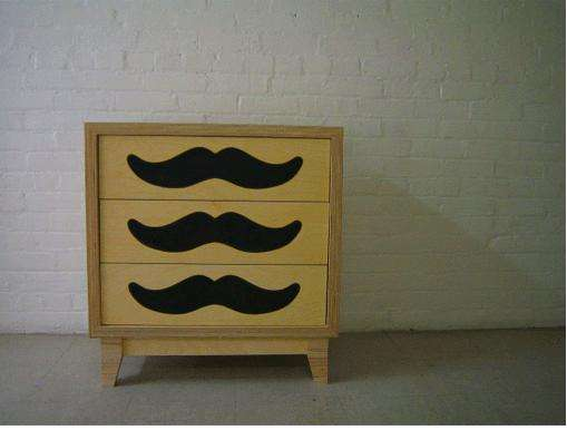Mustachioed Furniture
