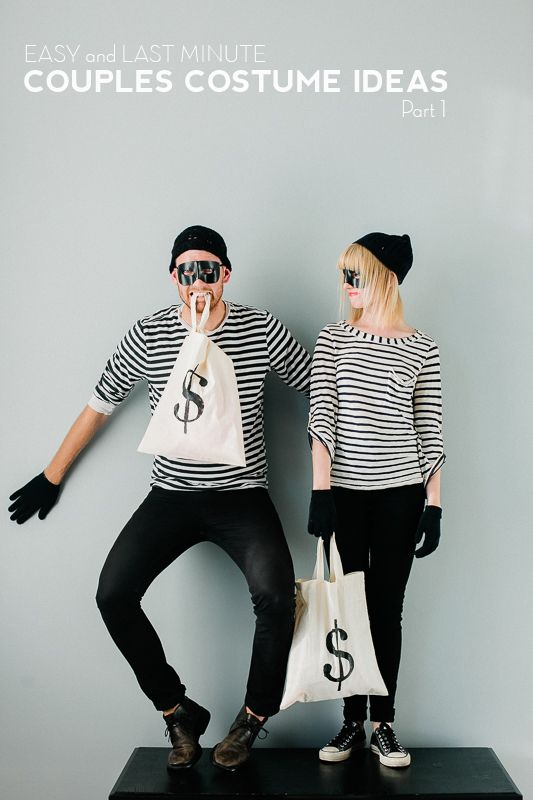 Robber-Inspired Costumes