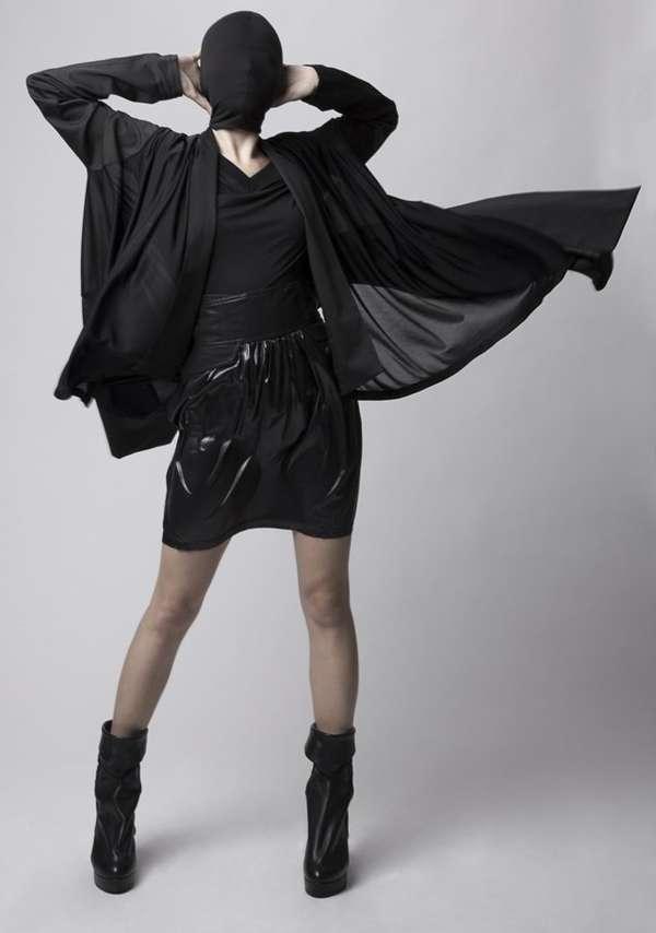 Ebony-Masked Couture