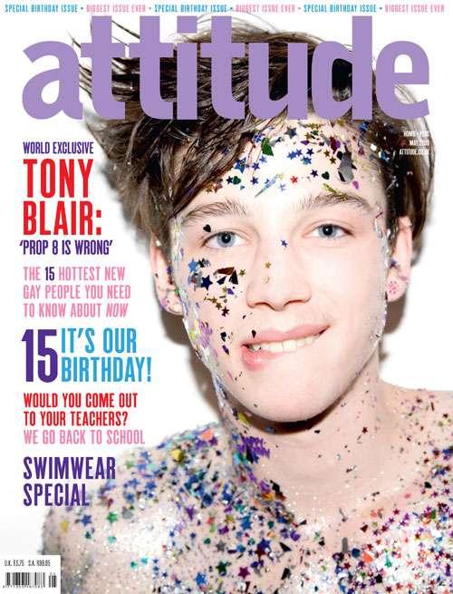 Glittery Boys on Magazine Covers