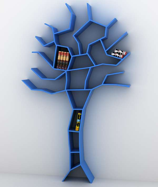 Titillating Tree Bookcases