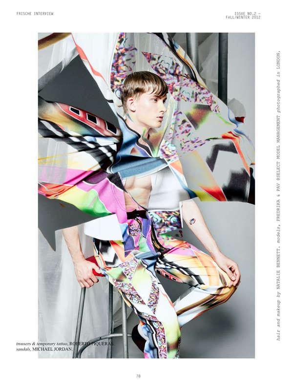 Psychedelic Streetwear Styles