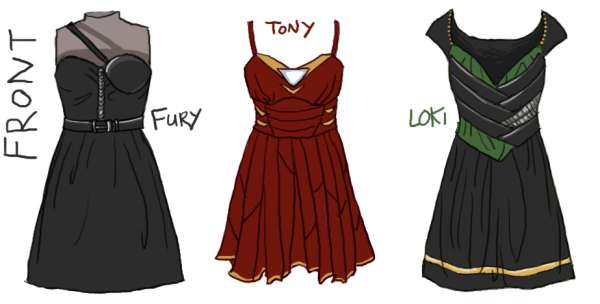 Superheroic Prom Dress Designs