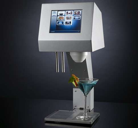 Robot Bartenders Get Digital Myfountain Smartini Cocktail