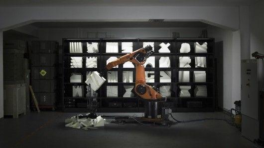 Styrofoam-Chopping Robots