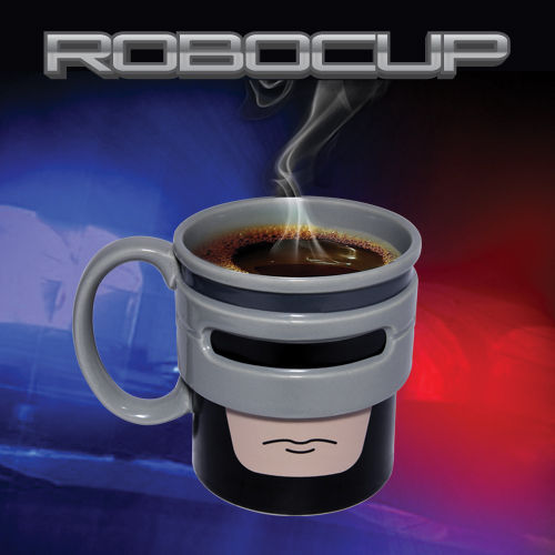 Cyborg Crime-Fighting Mugs