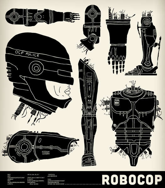 Robot Anatomy Artwork