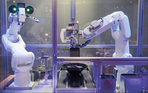Robotic Soup Chefs