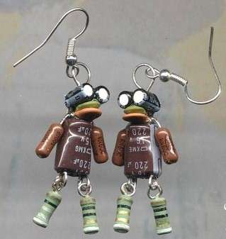 Recycled Robot Jewelry