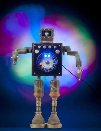 robot night lights