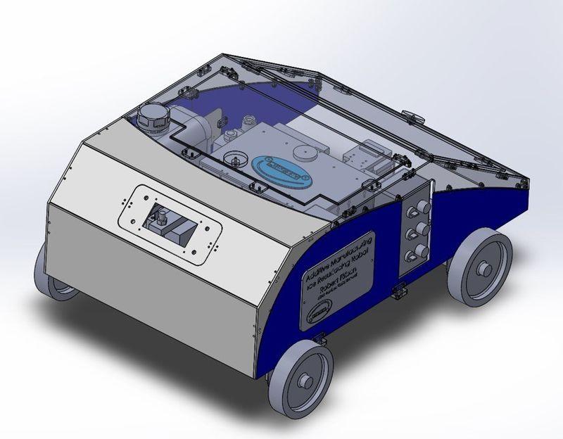 Roving 3D-Printing Robots