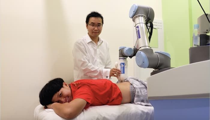 Massage-Giving Robots