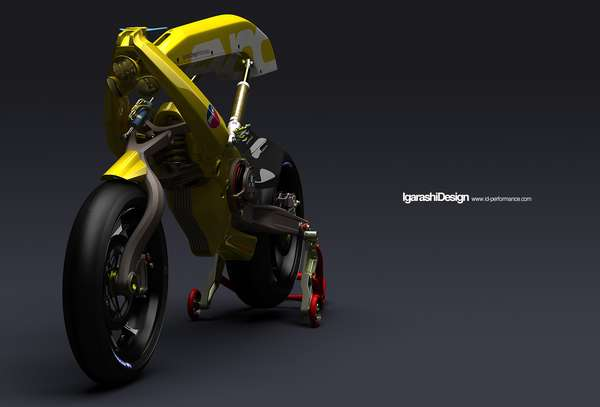 Robotic Motorbikes