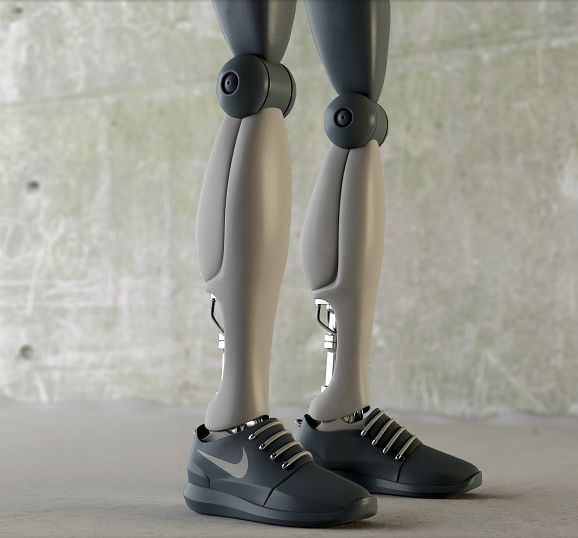 Stylish Robotic Sneakers