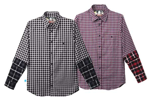 Multi-Plaid Menswear