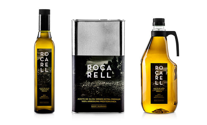 Naturalistic Olive Oil Packaging
