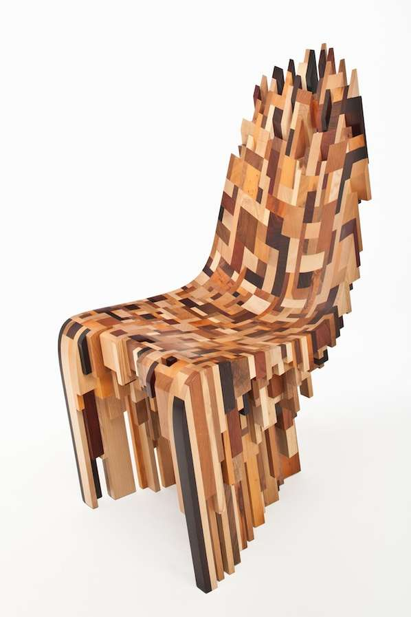 Pixelated Patchwork Seating