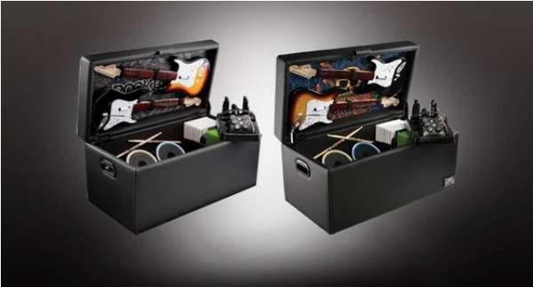 Gamer Storage Furniture - Gamer Storage Furniture : Rock Band Storage Ottoman