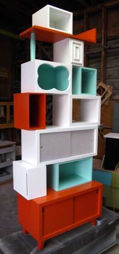 Modern Cubby-Like Shelving