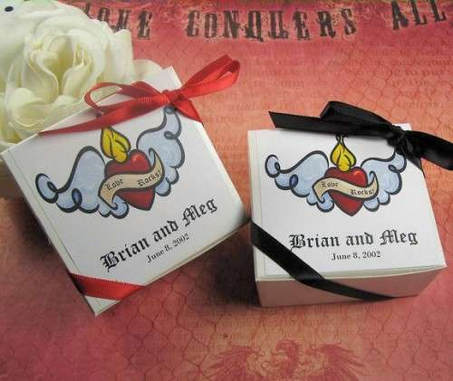 Rock n Roll Wedding Gifts : Rock n Roll Wedding Favors