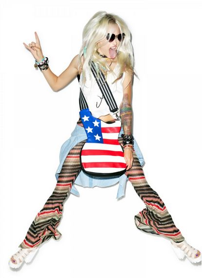 Patriotic Guitar-Shaped Bags