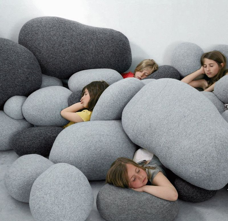 Realistic Rock Pillows