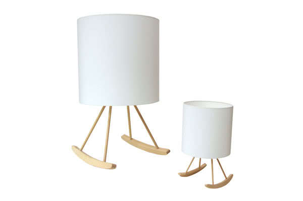 rocking lamp by Young and Battaglia