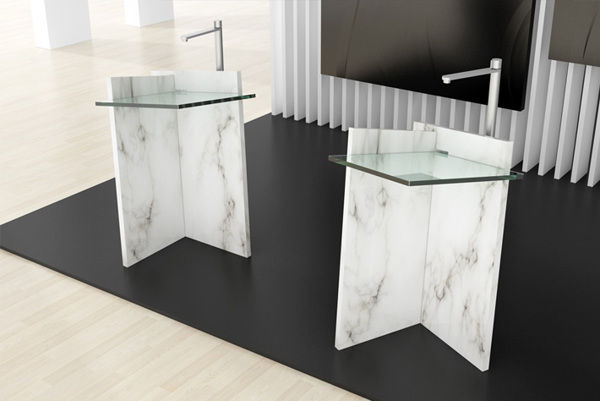 Slotted Slab Washbasins